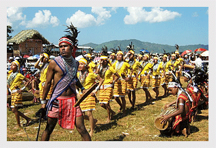 Mim Kut festival. Mizoram