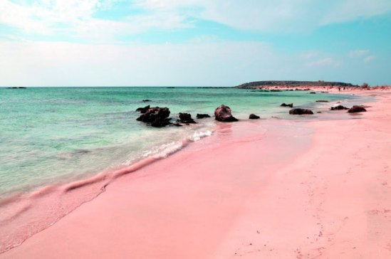 cool-unique-beach-pink-sand
