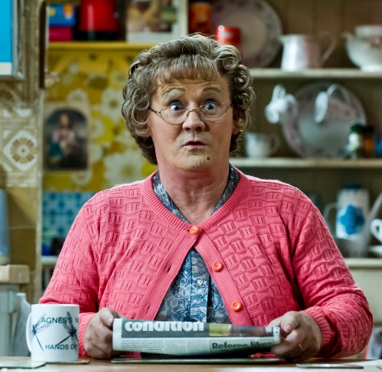 Mrs Brown's Boys (11/10/2012) pics Alan Peebles