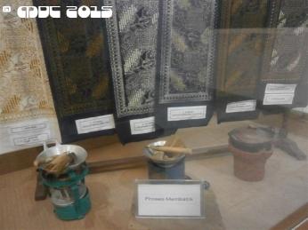At the Textile /Batik Museum