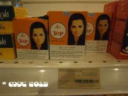At the Market; hair dyes
