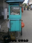 a tiny food stall