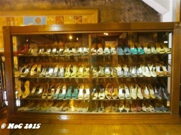 Shoes of Imelda Marcos; Imelda used to promote Marikina city shoe brands back in her days