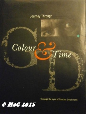 A table book with photographs focusing on color, from Oceania to Mediteranean, good one