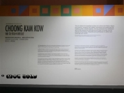 National Visual Arts Gallery / Choong Kam Kow retrospective exhibition