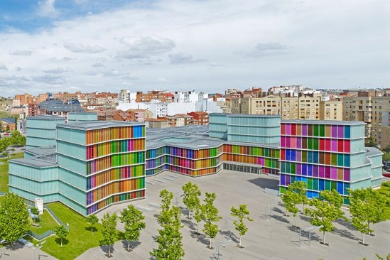 MUSAC—a contemporary art museum in León, Spain.