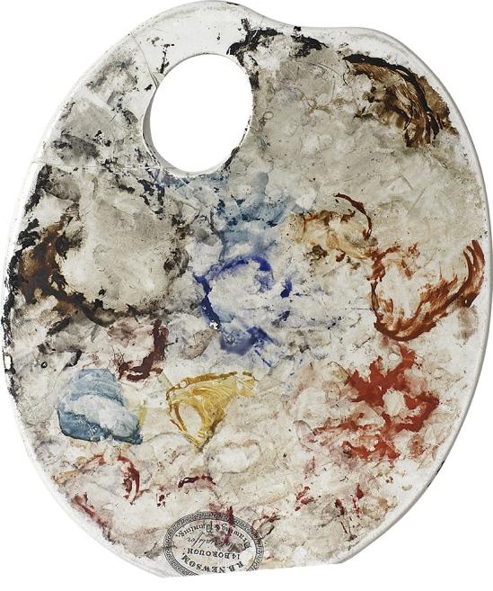 Van Gogh's palette